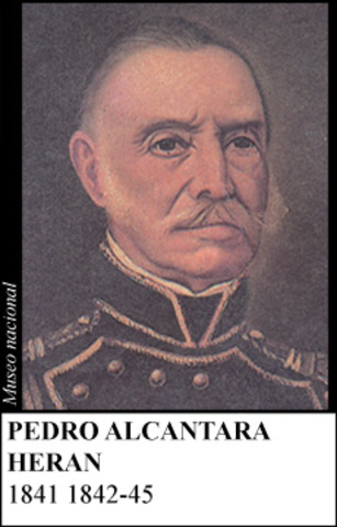 PEDRO ALCANTARA HERAN 1841-1845