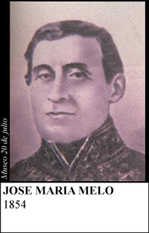 JOSE MARIA MELO ABRIL- DICIEMBRE 1854