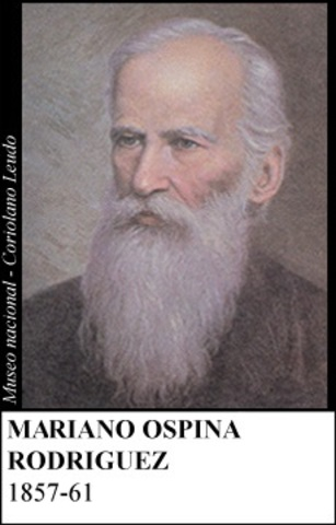 MARIANO OSPINA RODRIGUEZ 1857-61