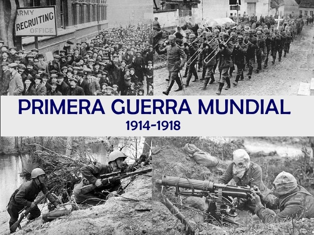 Guerras: Primera guerra mundial
