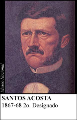 SANTOS ACOSTA 1867-68