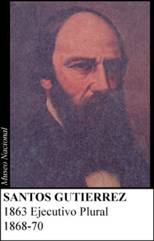 SANTOS GUTIERREZ 1868-70