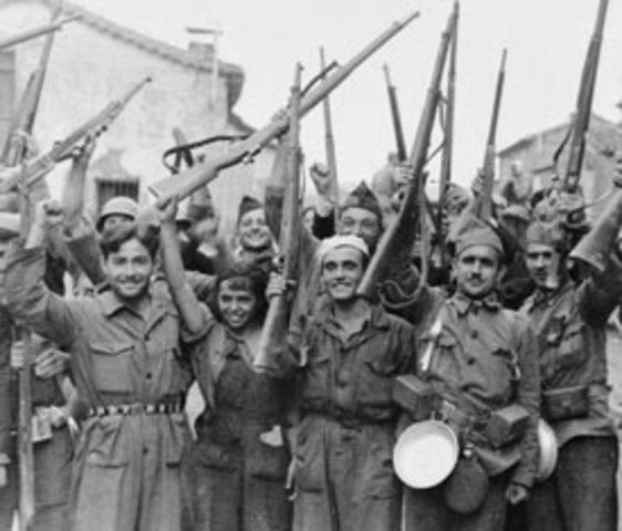 Guerras: Guerra civil española.
