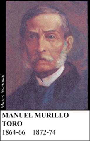 MANUEL MURILLO TORO 1872-74