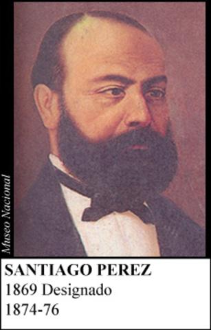 SANTIAGO PEREZ MANOSALVA 1874-76