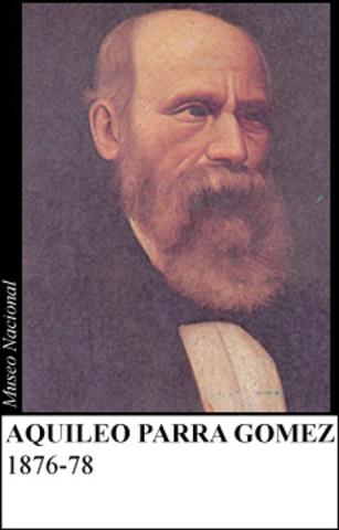 AQUILEO PARRA 1876-78