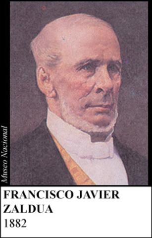 FRANSISCO JAVIER ZALDUA 1882