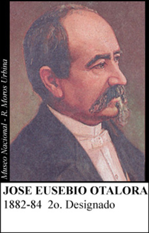 JOSE EUSTEBIO OTALORA 1882-84