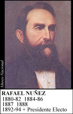 RAFAEL NUÑEZ 1884-88