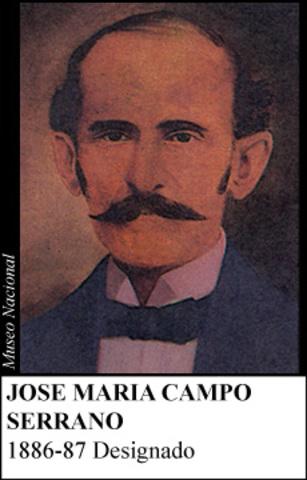 JOSE MARIA CAMPO 1886-87