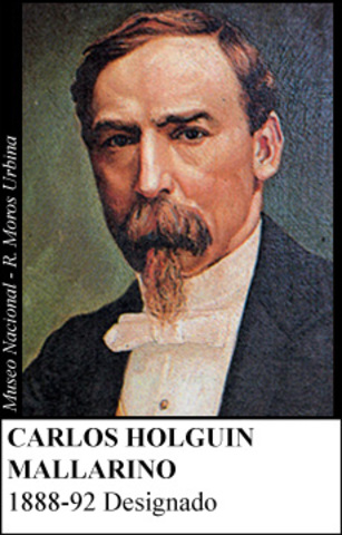 CARLOS HOLGUIN MALLARINO 1888-92