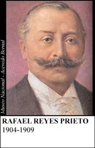 RAFAEL REYES PRIETO 1904-1909