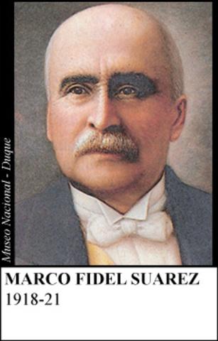 MARCO FIDEL SUAREZ 1918-21