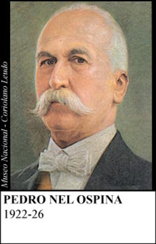 PEDRO NEL OSPINA 1922-26