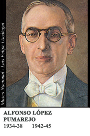 ALFONSO LOPEZ PUMAREJO 1934-38