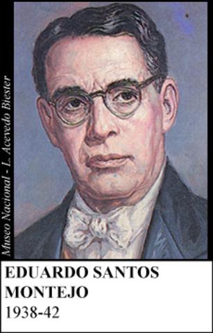 EDUARDO SANTOS MONTEJO 1938-42