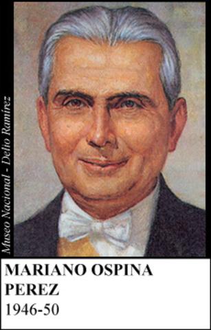 MARIANO OSPINA PEREZ 1946-50