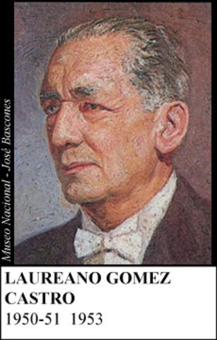 LAUREANO GOMEZ CASTRO 1950-51
