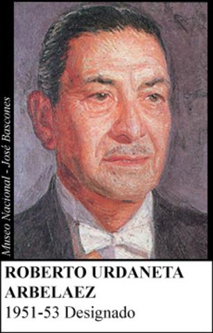 ROBERTO URDANETA ARBELAEZ 1951-53