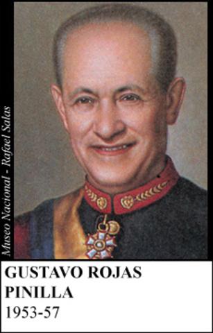 GUSTAVO ROJAS PINILLA 1953-57