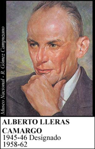 ALBERTO LLERAS CAMARGO 1958-62
