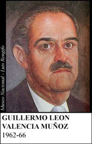 GUILLERMO LEON DE VALENCIA 1962-66
