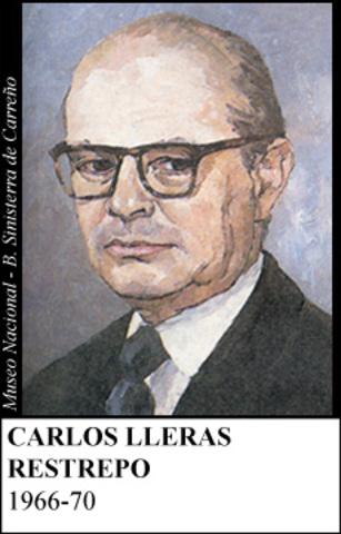 CARLOS LLERAS RESTREPO 1966-70