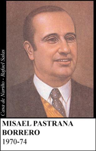 MISAEL PASTRANA 1970-74