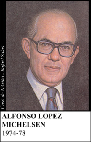 ALFONSO LOPEZ MICHELSEN 1974-78