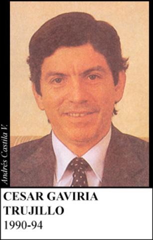 CESAR GAVIRIA TRUJILLO 1990-94