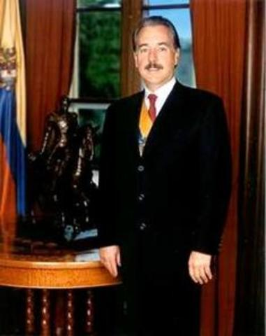 ANDRES PASTRANA 1998-2002