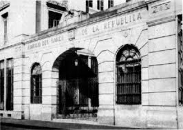 NACE EL BANCO DE LA REPÚBLICA