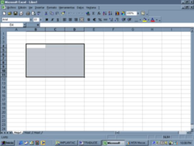 Excel versión 9