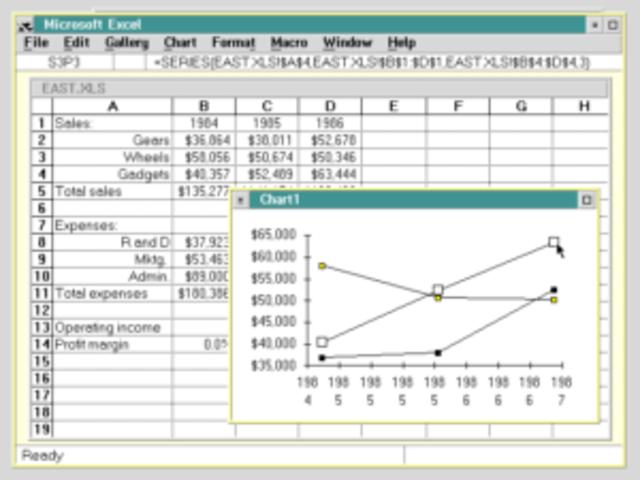 Lanzamiento de Excel 2.2 para Macintosh.
