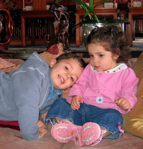 El día que nació mi hermana Camila