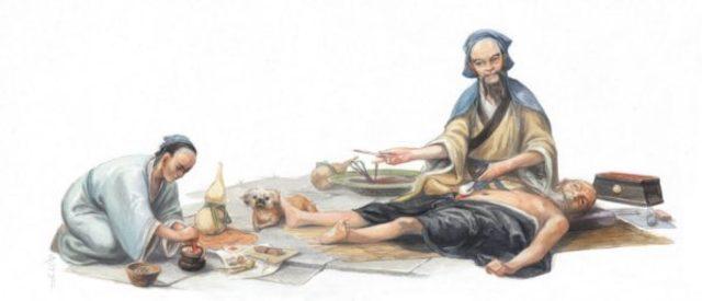La obra mas antigua de china conforme al salud