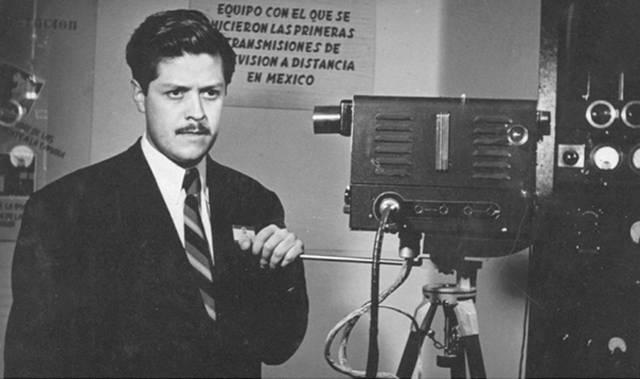 MX - Primera cámara de televisión a color
