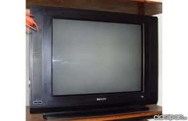 Primer televisor de pantalla plana