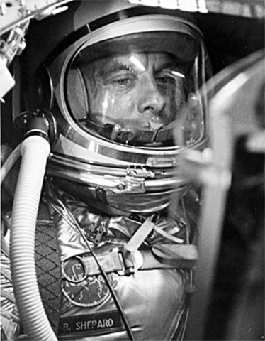 Alan B Sheperd 1st American in space
