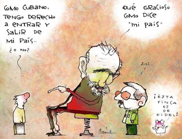 La llegada de Raúl