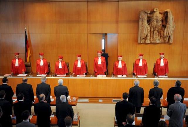 Tribunal Constitucional alemán.
