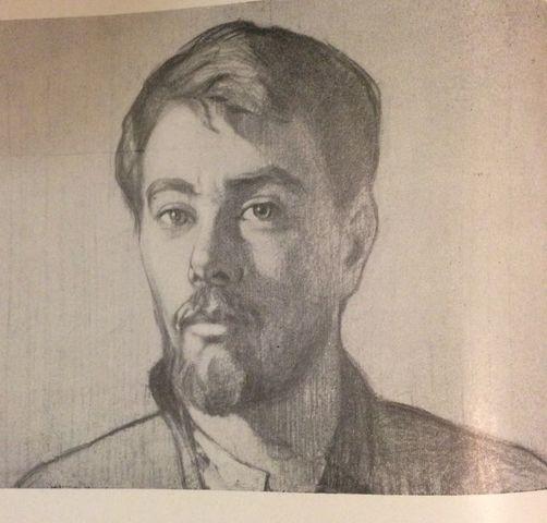Приезд в Томск Николая Смолина - ученика Фешина
