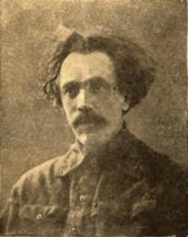 Приезд в Новониколаевск Степана Надольского - первого Новосибирского скульптора