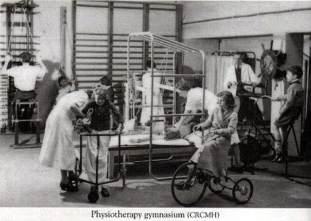 Antecedentes de la fisioterapia en el siglo XX: Nace la prefesión.