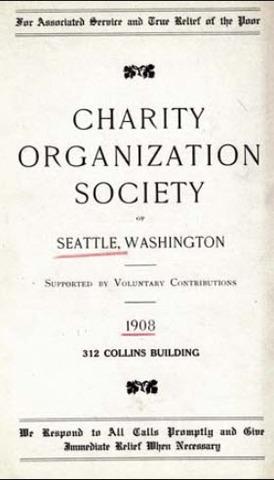 Charity Organization Society (C.O.S)