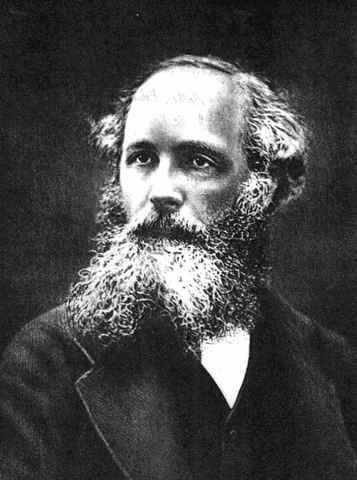 James Clerk Maxwell muestra la fotografía en color.
