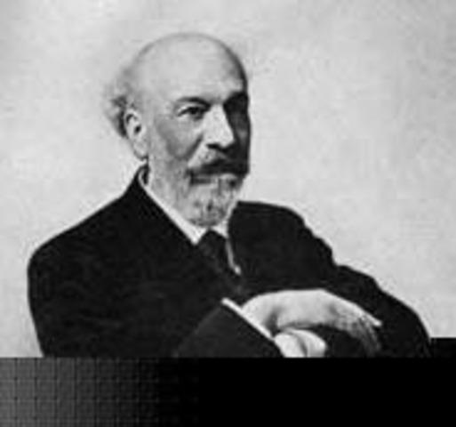 August Verneuil desarrolla un proceso para la fabricación de rubíes sintéticos.