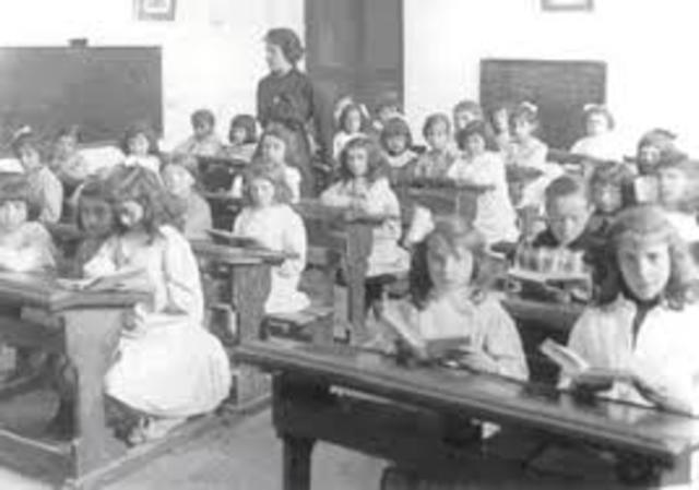 Educación primaria obligatoria Suecia.