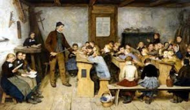 Educación primaria obligatoria Gran Bretaña