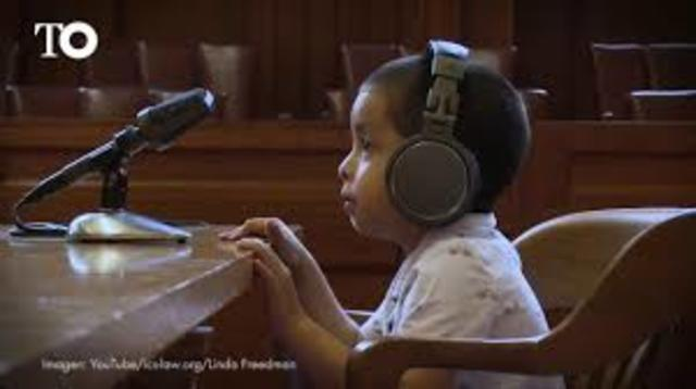 Creación de tribunales para niños, España
